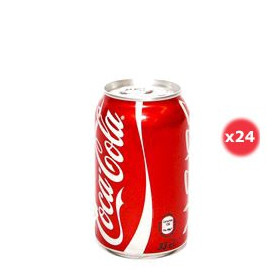 Coca-cola Canette Pack 33CL X24