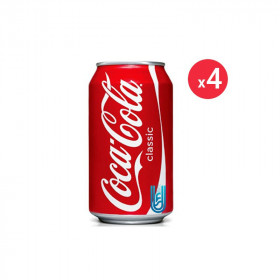 Coca-cola Canette Pack 33CL X4