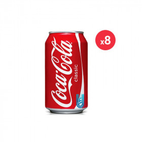 Coca-cola Canette Pack 33CL X8