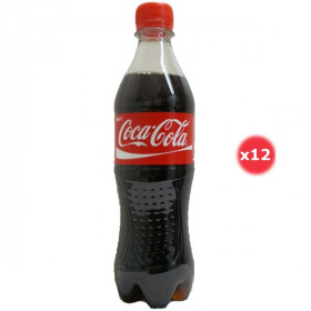 Coca-cola Pack 0.5L X12
