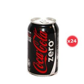 Coca-cola Zéro Canette Pack 33CL X24