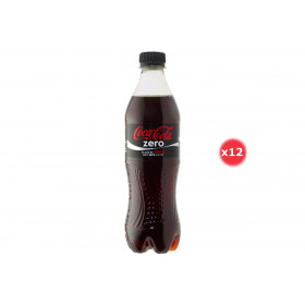 Coca-cola Zero Pack 0.5L X12