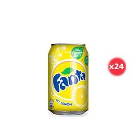 Fanta Citron Canette Pack 33CL X24