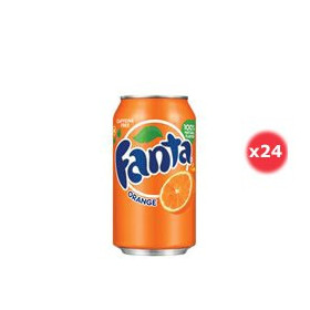 Fanta Orange Canette Pack 33CL X24
