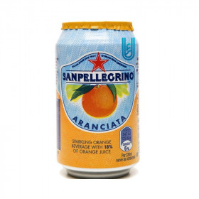 San pellegrino Orange canette 33CL