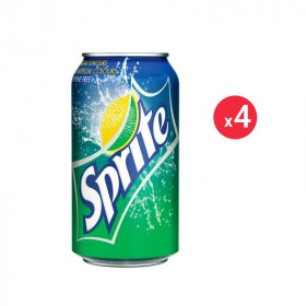 Sprite Canette Pack 33CL X4