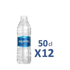 Aquafina 50cl x12