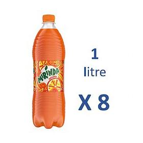 Mirinda Orange 1L x8
