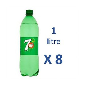 SEVEN 7UP 1Lx8