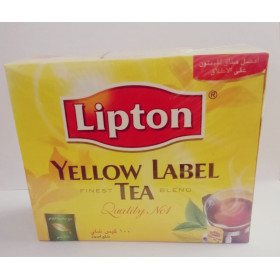Lipton Yellow The Noir 100 sachets