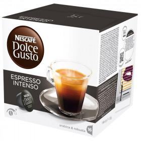 Espresso Intenso Nescafé Dolce Gusto x 16 Capsules