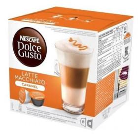 Latte Macchiato Caramel Nescafé Dolce Gusto x 16 Capsules