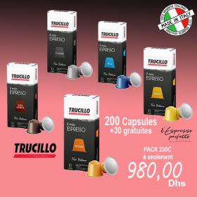 PACK TRUCILLO (200 CAPSULES+ 30 GRATUITES)