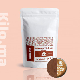 café mélange vénitien moulu 1kg