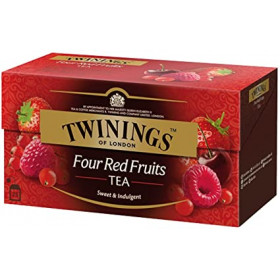 Twinings thé fruit rouge 25 *sachets