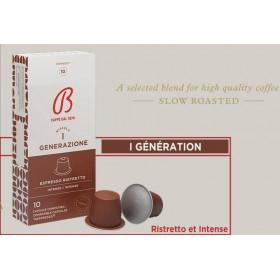 Café BARBERA ESPRESSO RISTRETTO (intensité 10)* 10 capsules
